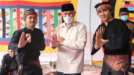 Mahyeldi hadiri Festival Batajau Silek Tuo di Nagari Sungai Sariak