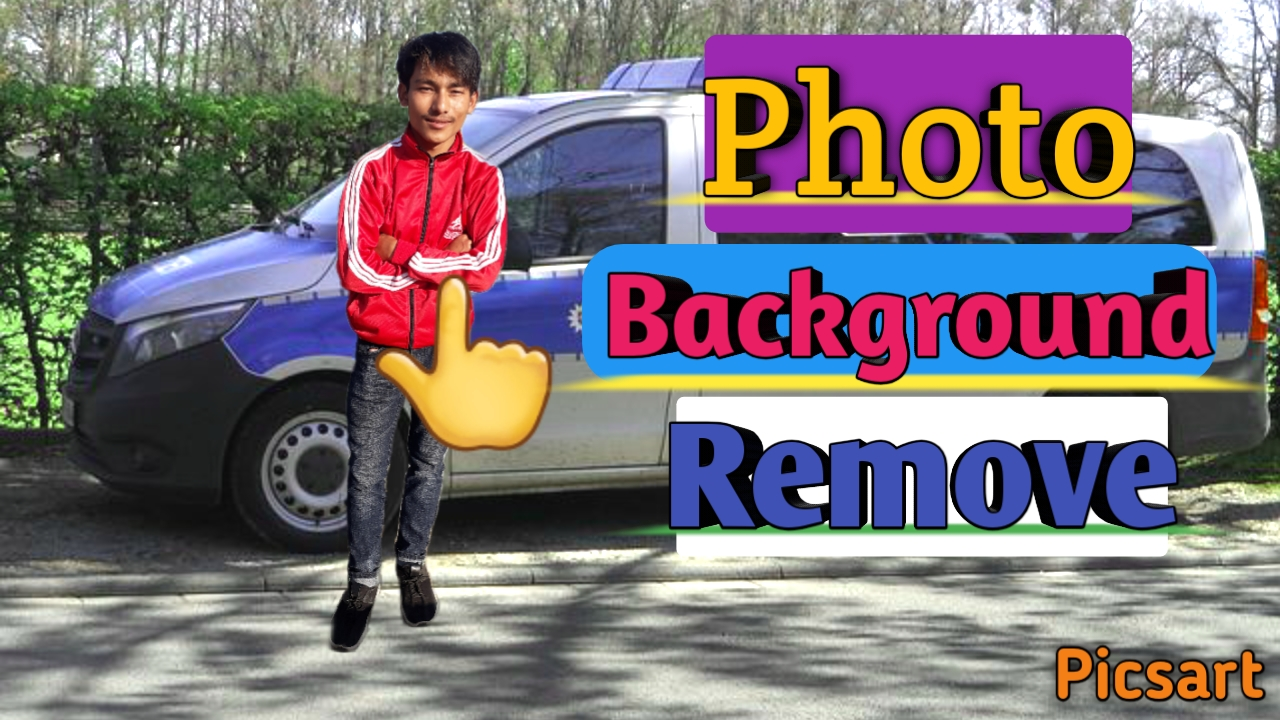 How To Remove Background In Picsart