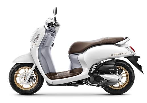 all new scoopy prestige white
