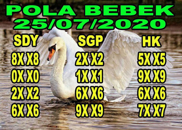 Kode syair Hongkong Sabtu 25 Juli 2020 134