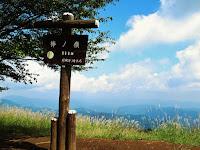 棒ノ折山山頂からの眺め