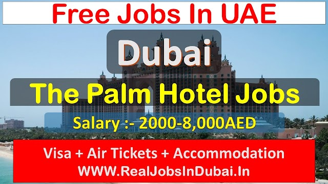 Atlantis The Palm Hiring Staff In Dubai - UAE 2021