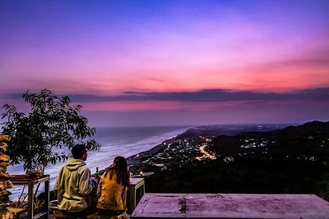 Wisata Malam Jogja Bukit Paralayang Parangtritis
