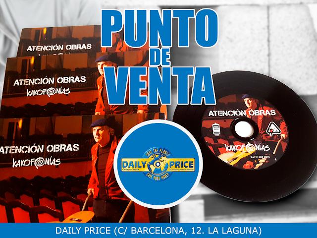 Punto de venta en La Laguna: Daily Price (C/ Barcelona, 12)