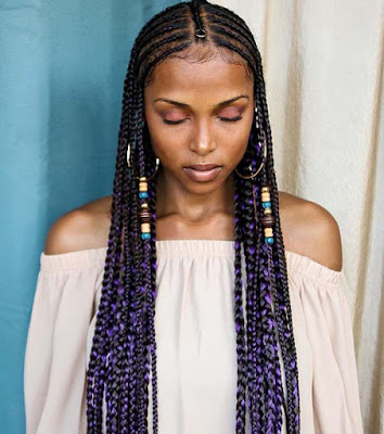 Fulani Box Braids For African American women are a decent protective style choice because 32 Fulani Box Braids For African American Women That Turn Heads
