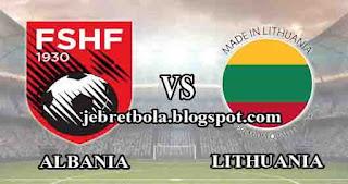 prediksi skor albania vs lithuania