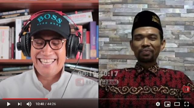 UAS Tak Kecewa Dukung Prabowo: Saya Tidak Ngefans Orang, tapi Ide