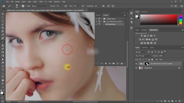 create magic skin retouching actions screenshot 7