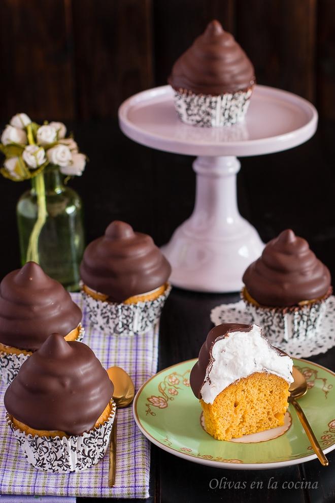 Hi-hat Cupcakes de calabaza