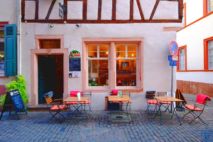 Le Chameau Bleu - Café Schiller Heidelberg Altstadt Deutschland