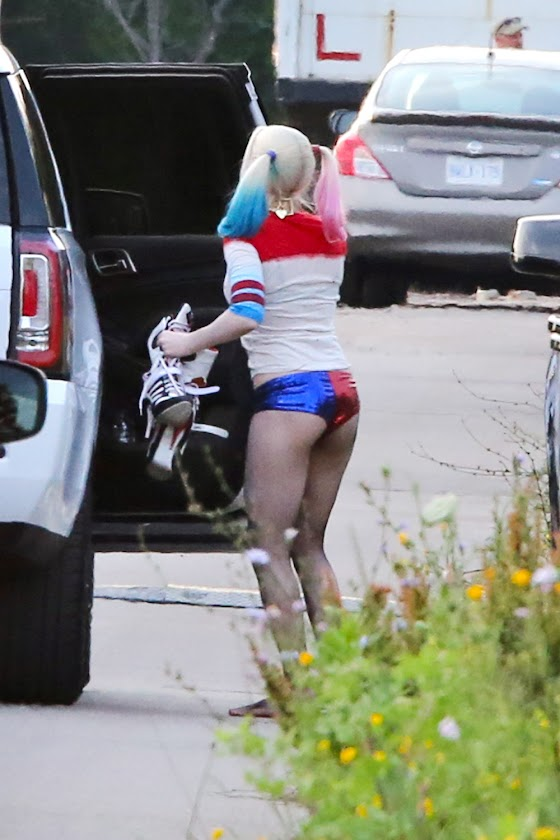 Harley Quinn of Margot Robbie evil comic hero movie
