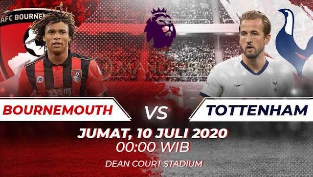 Prediksi AFC Bournemouth Vs Tottenham Hotspur, Jumat 10 Juli 2020 Pukul 00.00 WIB @ Mola TV