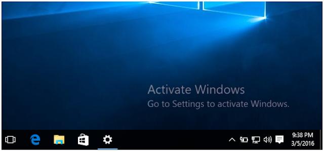 Cara Mudah Aktivasi Windows 10 Yang Permanen Secara Offline