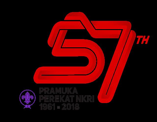 Tema dan Logo Hari Pramuka Ke-57 Tahun 2018