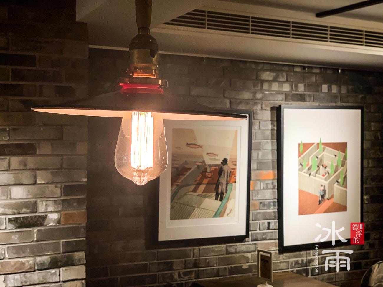 藝廊一般的餐廳,也可以當成咖啡廳