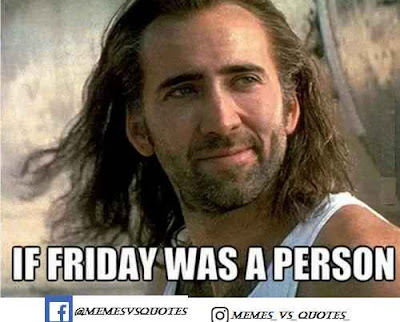 Friday was a person