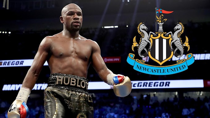 Floyd Mayweather declares interest in buying English football club Newcastle United