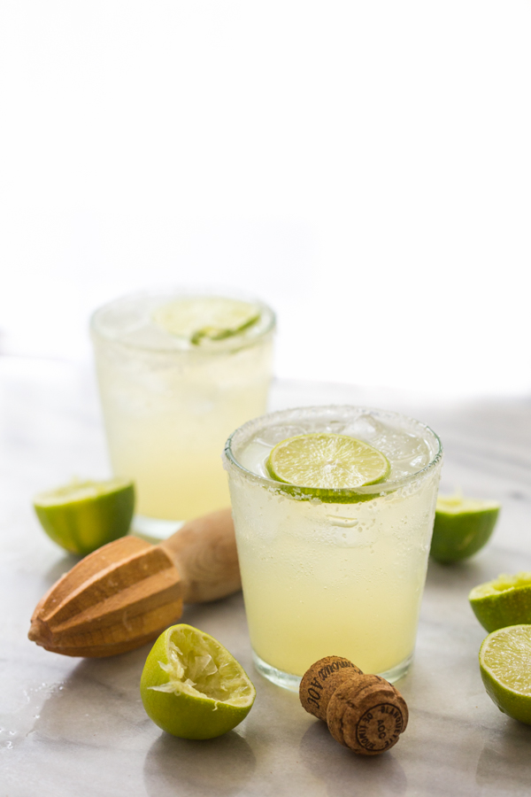 Champagne Margarita Recipe #margaritas #lemonade #smoothie #party #drink