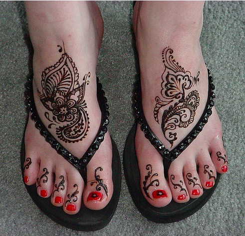 Foot Tattoo Pain Reliever