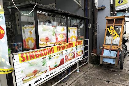 Singkong Thailand Lovers di Depok Enak Banget