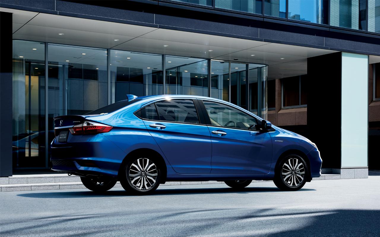 Honda Launches Updated Grace Aka The Fit Sedan In Japan ...