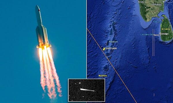 China's massive 18-tonne rocket set to crash back to Earth - where it might land