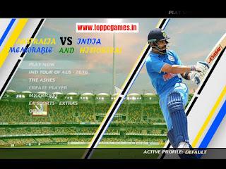 Australia VS India 2016 Cricket Game