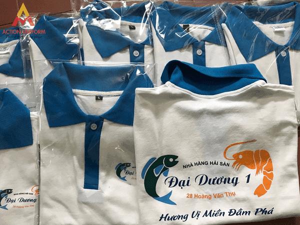 Đồng phục nhà hàng hải sản Đại Dương 1