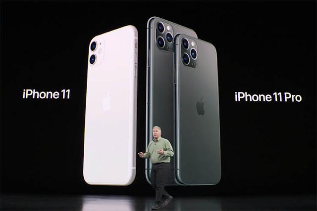 أبل تكشف عن هواتف iPhone 11 وأيفون 11 برو و أيفون 11 برو ماكس