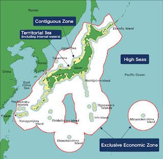 იაპონიის ექსკლუზიური  ეკონომიკური ზონები
