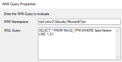 Upgrading TPM Spec 1 2 to 2 0 on ThinkPad using ConfigMgr