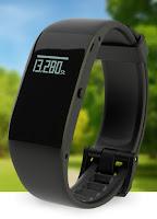 Foto del braccialetto cardiofrequenzimetro Veroval Activity Tracker braccialetto intelligente per il monitoraggio del sonno e delle attività motorie