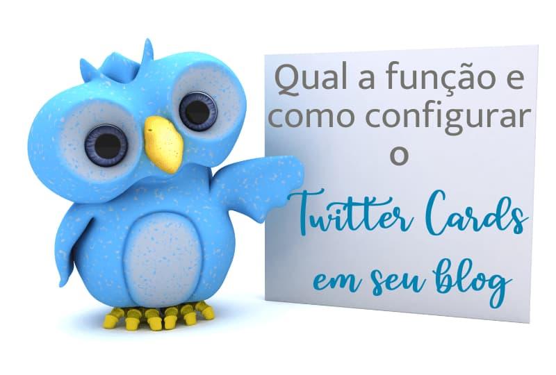 Qual a função e como configurar o twitter card em seu blog