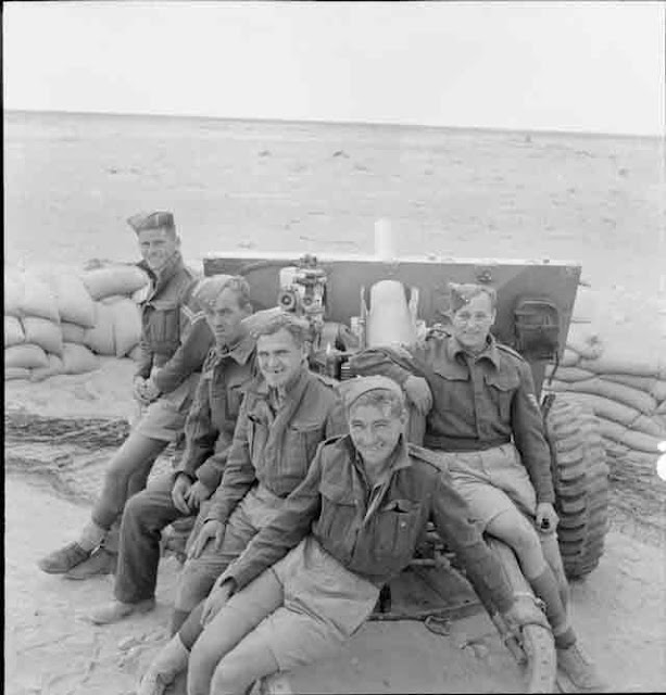 25-pdr gun crew at Tobruk, 18 November 1941 worldwartwo.filminspector.com