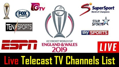 Where can I watch the ICC Cricket WC 2019? Watch WC Matches