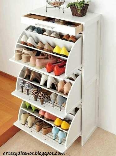 Muebles para organizar zapatos decoraci n del hogar - Muebles de zapatos ...