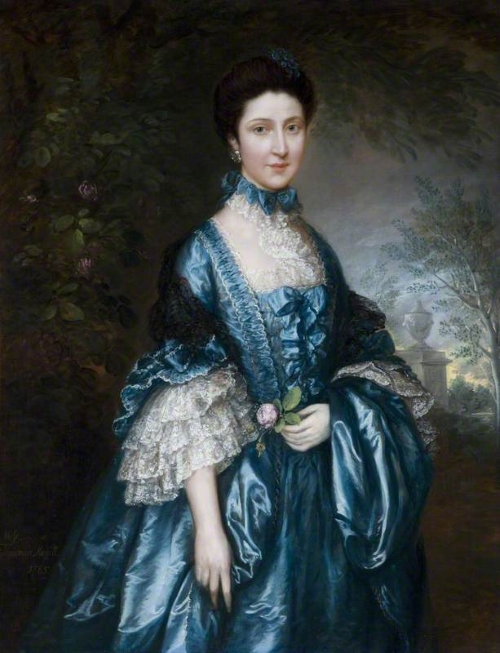 Thomas Gainsborough - Miss Theodosia Magill