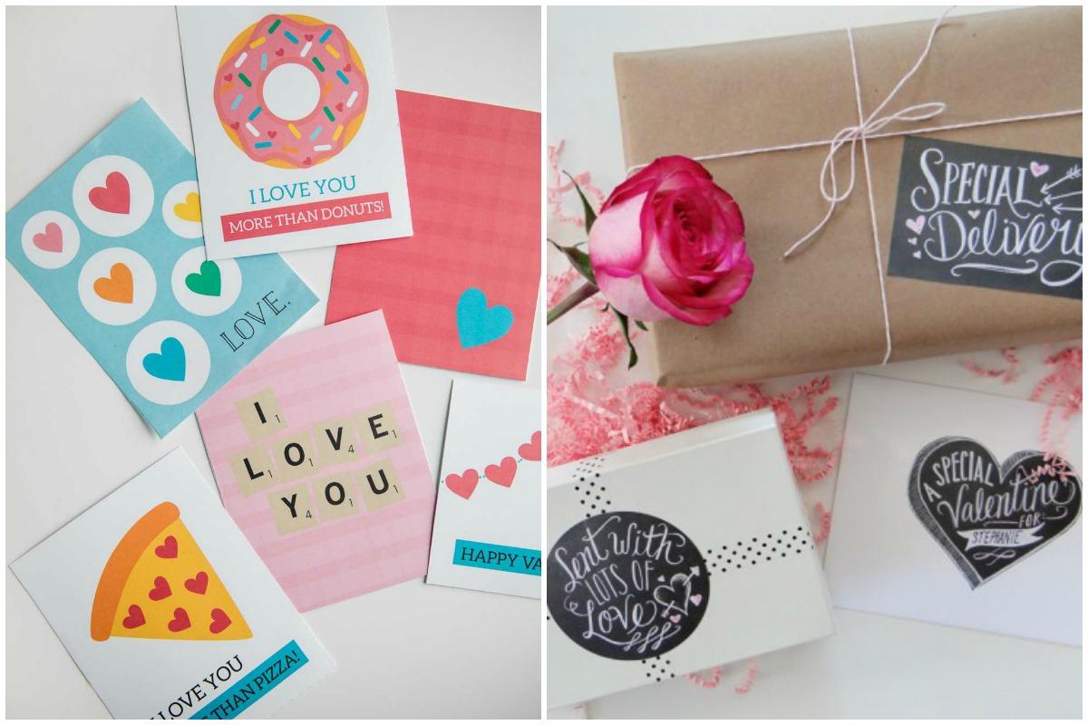 Tarjetas gratis para San Valentin