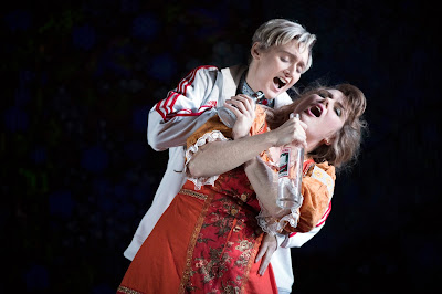 Rimsky Korsakov - The Snow Maiden - Opera North - Heather Lowe, Elin Pritchard - photo Richard Hubert Smith