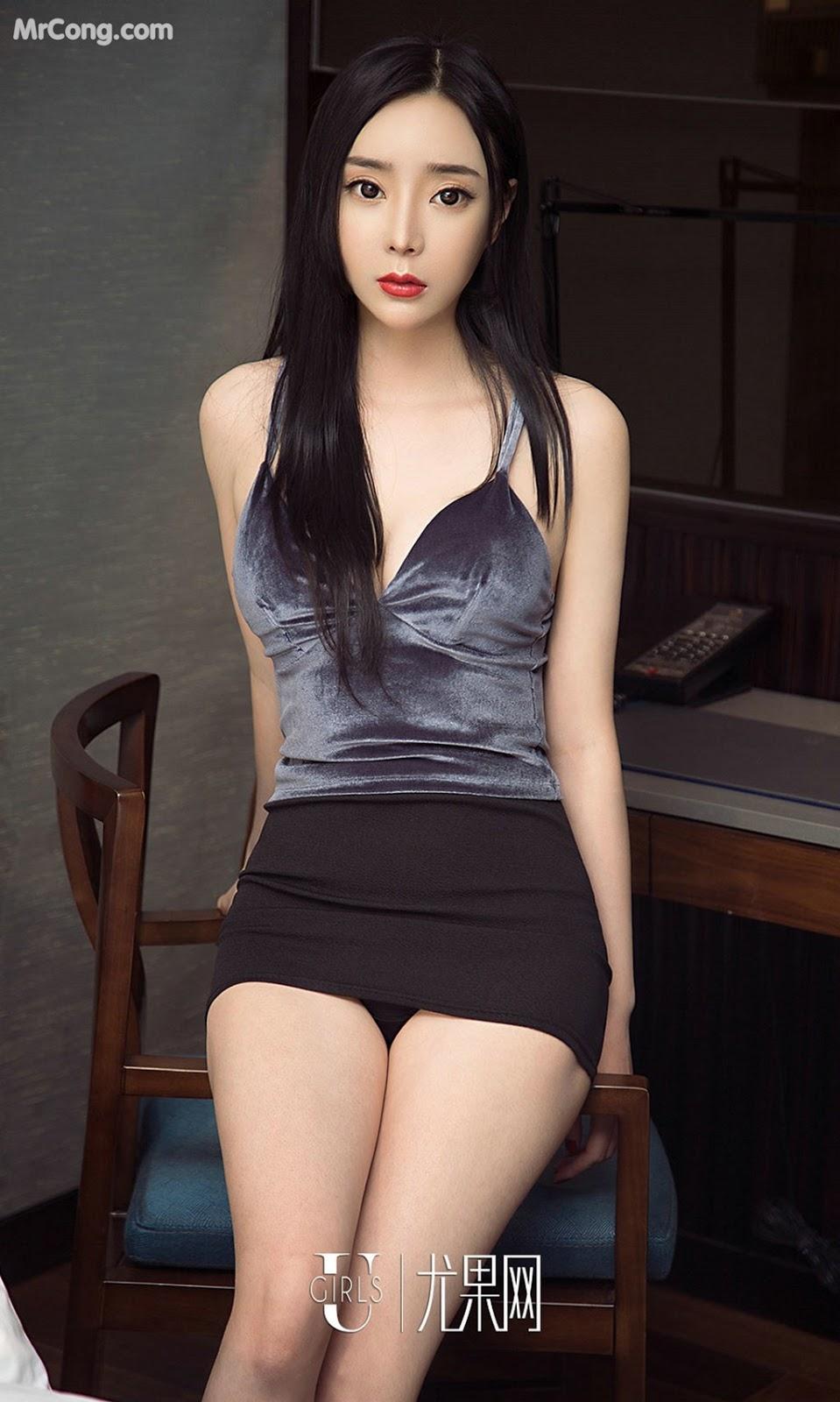 Image UGIRLS-Ai-You-Wu-App-No.1387-Ai-Mi-Er-MrCong.com-006 in post UGIRLS – Ai You Wu App No.1387: Người mẫu Ai Mi Er (艾米儿) (35 ảnh)