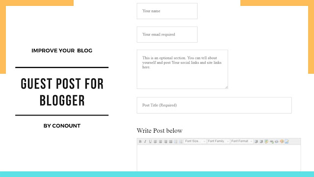 How to Set Up a Guest Post on Blogspot