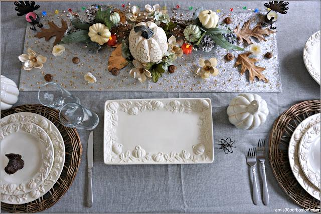 Mesa de Nuestra Cena de Acción de Gracias 2020