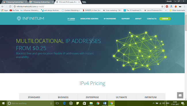 Multilocational IP Address