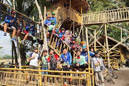 Resto Rumah Pohon Jadi Ikon Baru Desa Sukosri