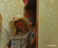 Anja Brinkmann en su casa de Alicante