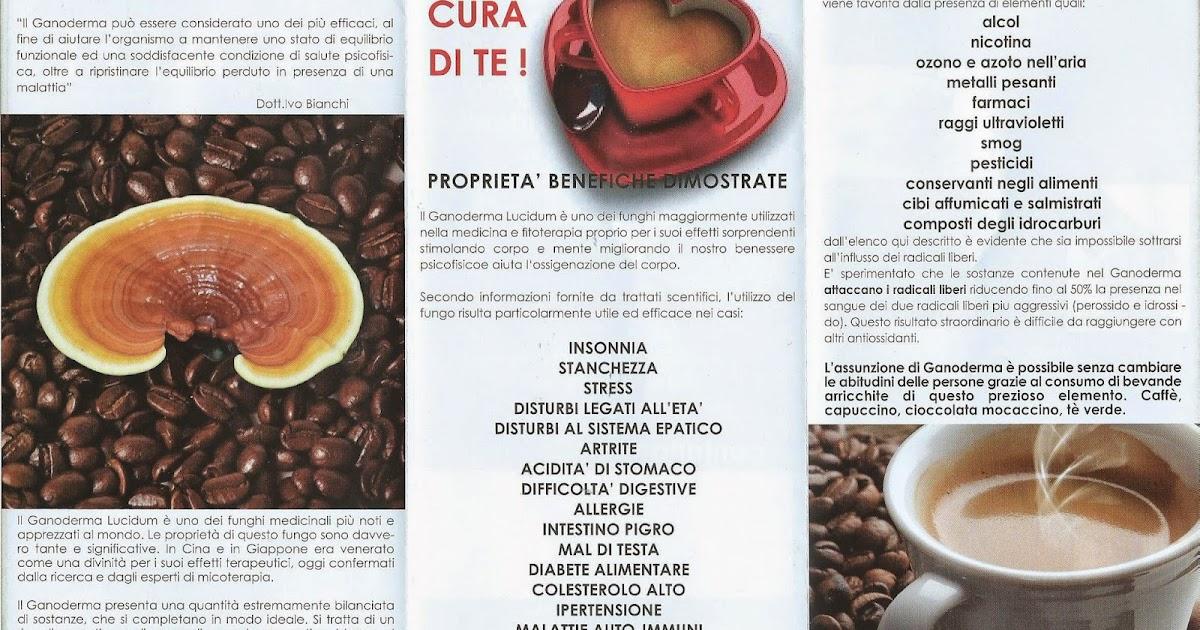 Caffe Con Ganoderma Lucidum Il Caffe Ed Il Te Del Benessere E Della Salute Il Caffe Del Benessere Arricchito Con Ganoderma Lucidum