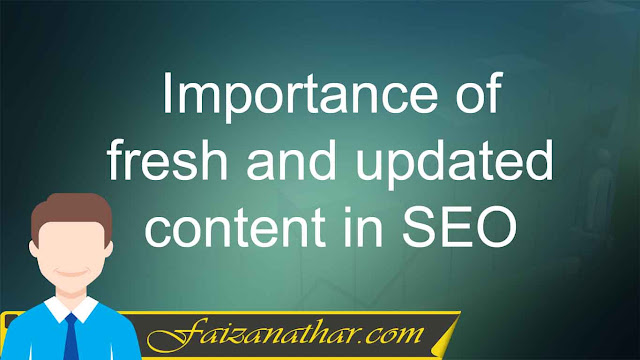 Importance of fresh and updated content in SEO