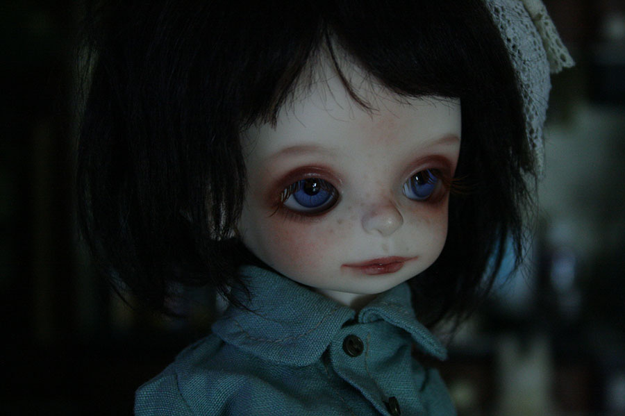 SÆLGES// FOR SALE ::: Dollzone Pumpkin head P0
