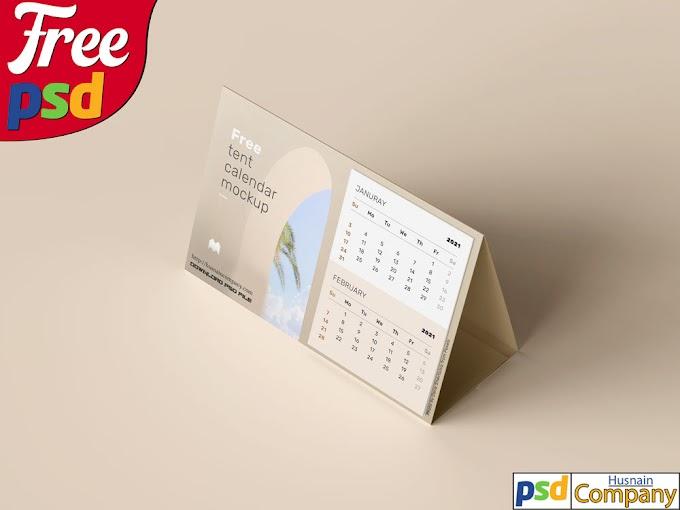 Download Free Calendar PSD Mockup #2