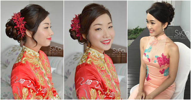 best bridal makeup for chinese wedding kl